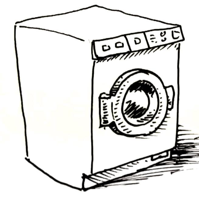 Washing Machine Drawing ~ Draw a washingmachine shoo rayner author