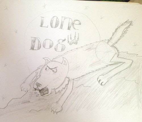 Drawing Lone Dogs with Yr 5 at Talbot Heath School | Shoo