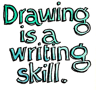 writing-drawing