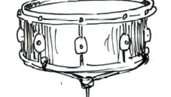 How To Draw A Snare Drum