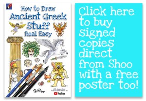 How to draw Ancient Greek Stuff | Shoo Rayner - Author | Page 2