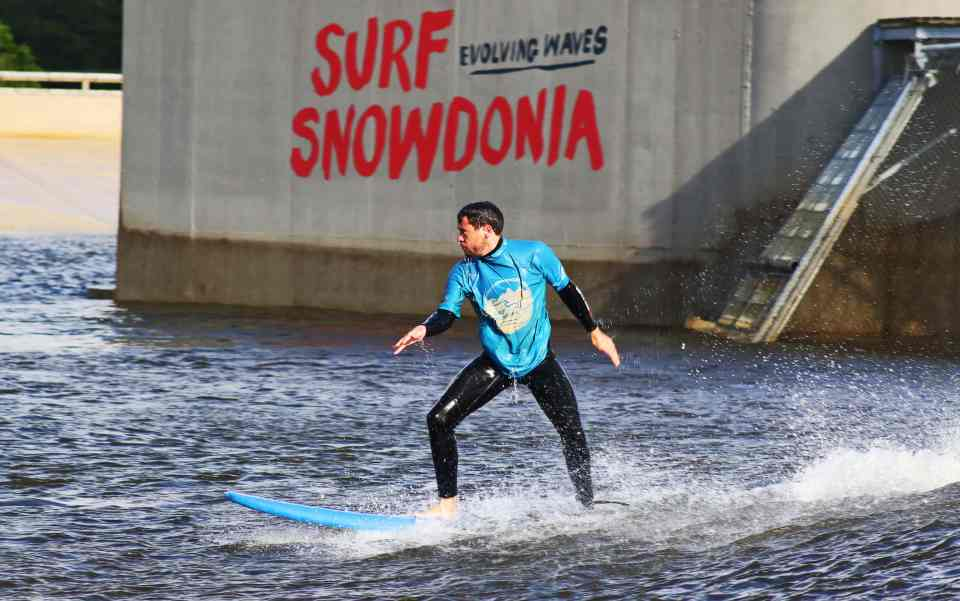 Surf Snowdonia - Evolving Waves