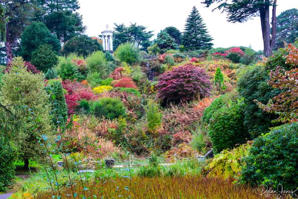 Stunning colours and landscaping in the Alton Towers Gardens
