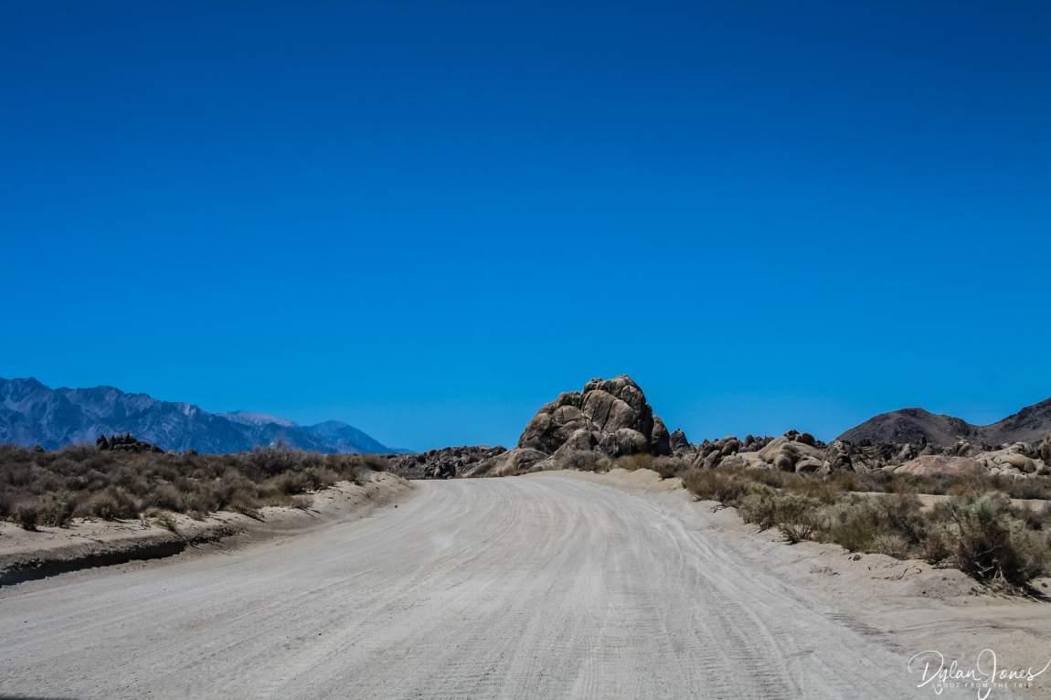 Eastern Sierra Movie Flat Road at Alabama Hills