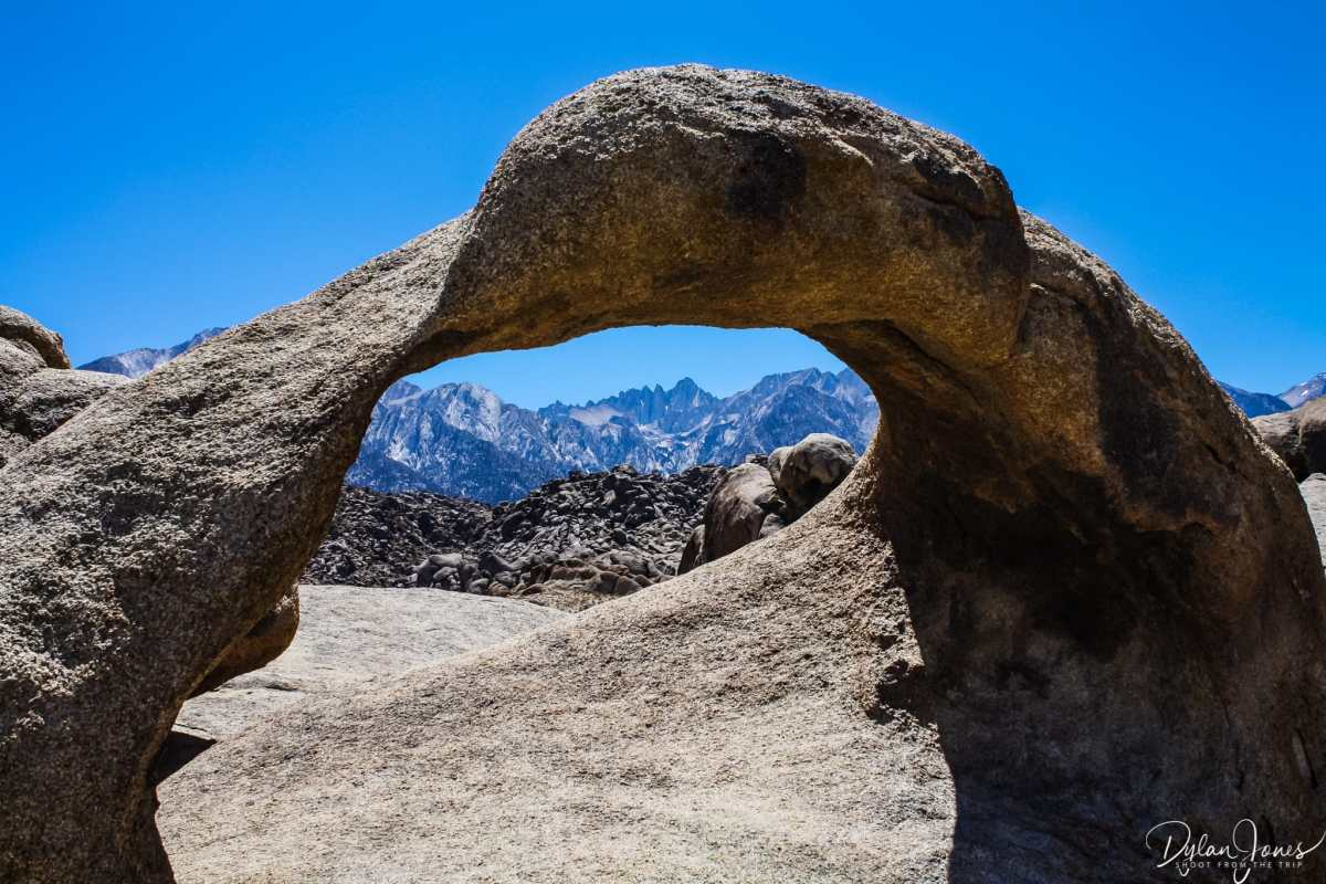 Mobius Arch at Alabama Hills
