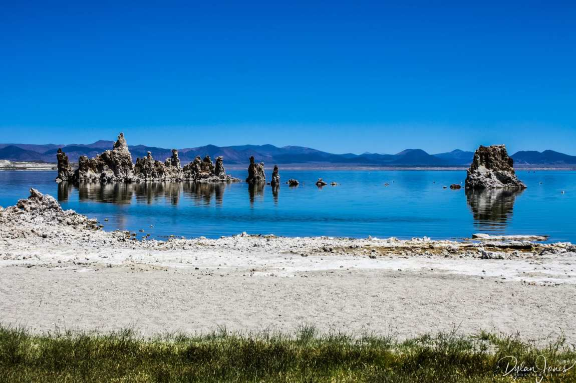 Eastern Sierra Looking out across Mono Lake from the shoreline