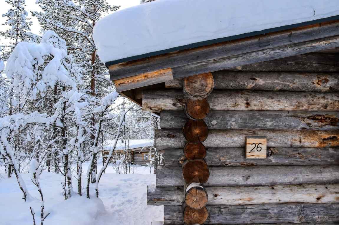 Cabin 26 exterior photo at Kakslauttanen East Village