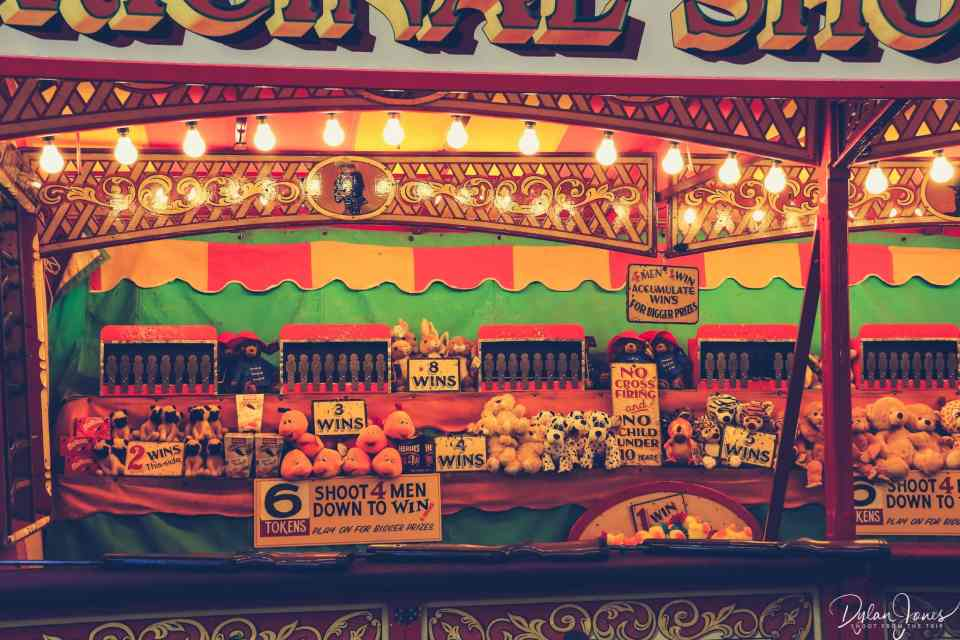 Ad A Vintage Fairground Experience At Carters Steam Fair Shoot