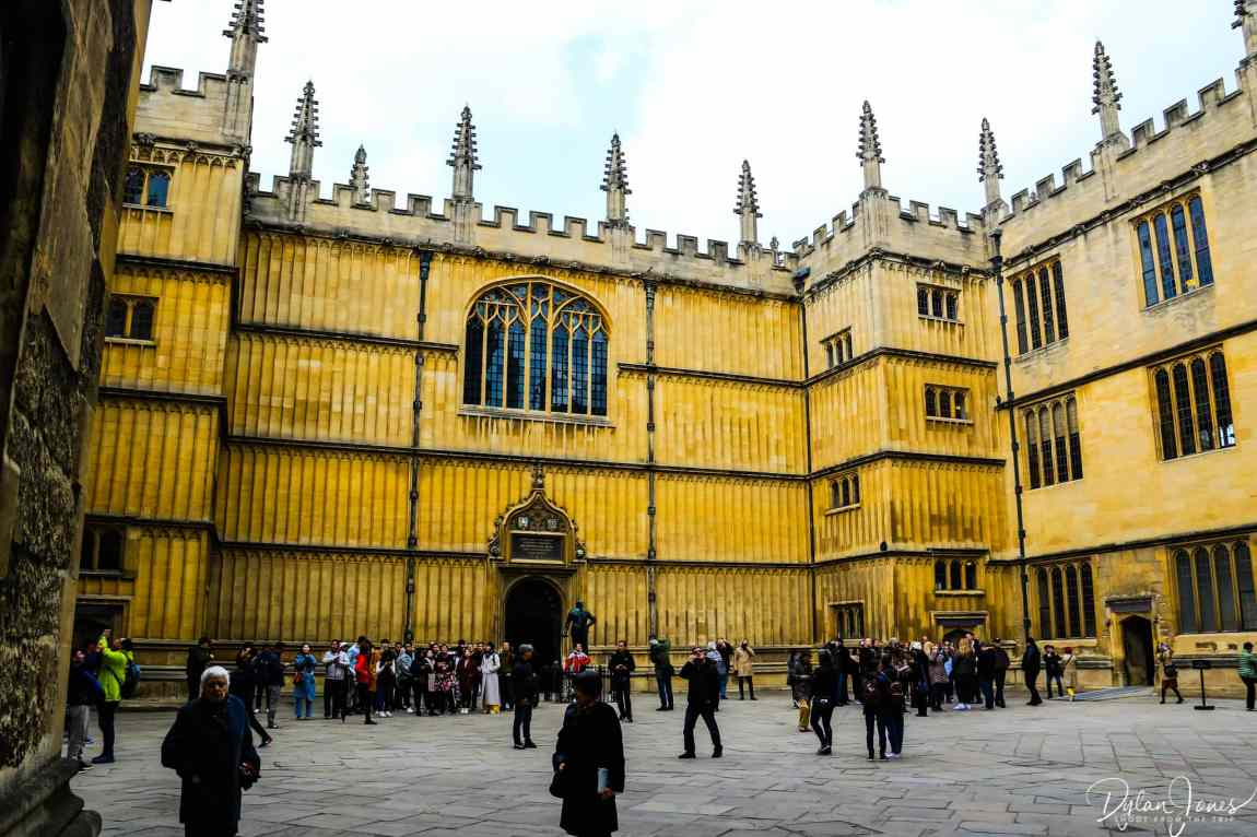 Bodleian Library Old Schools Quad