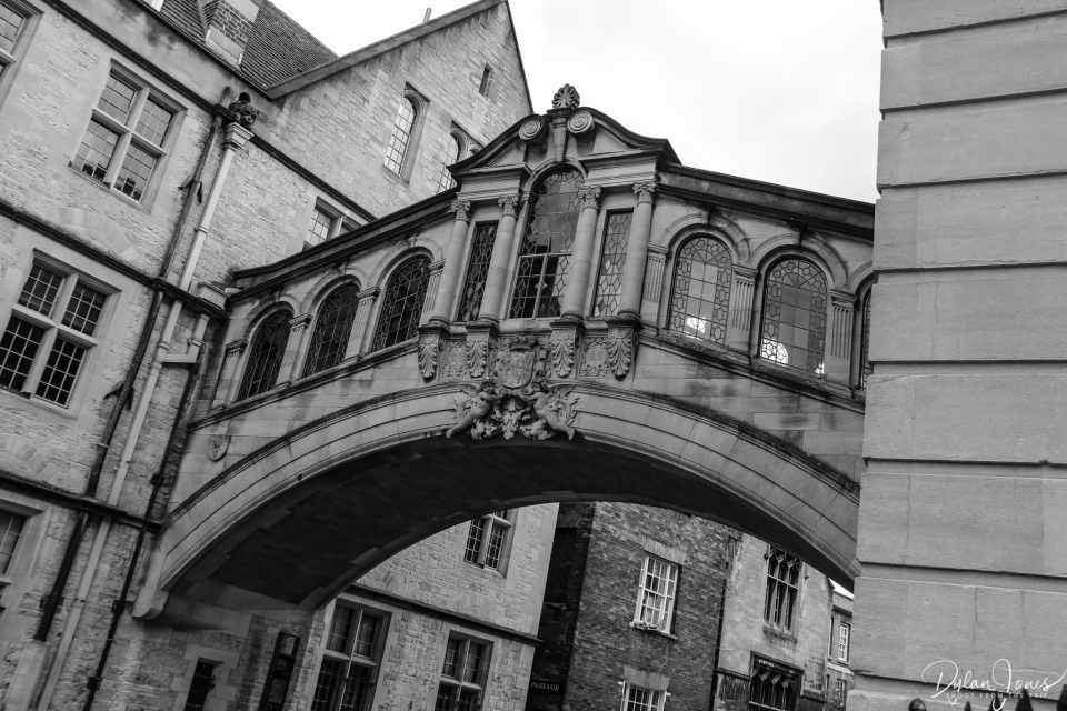 Hertford Bridge or The Bridge of Sighs close up