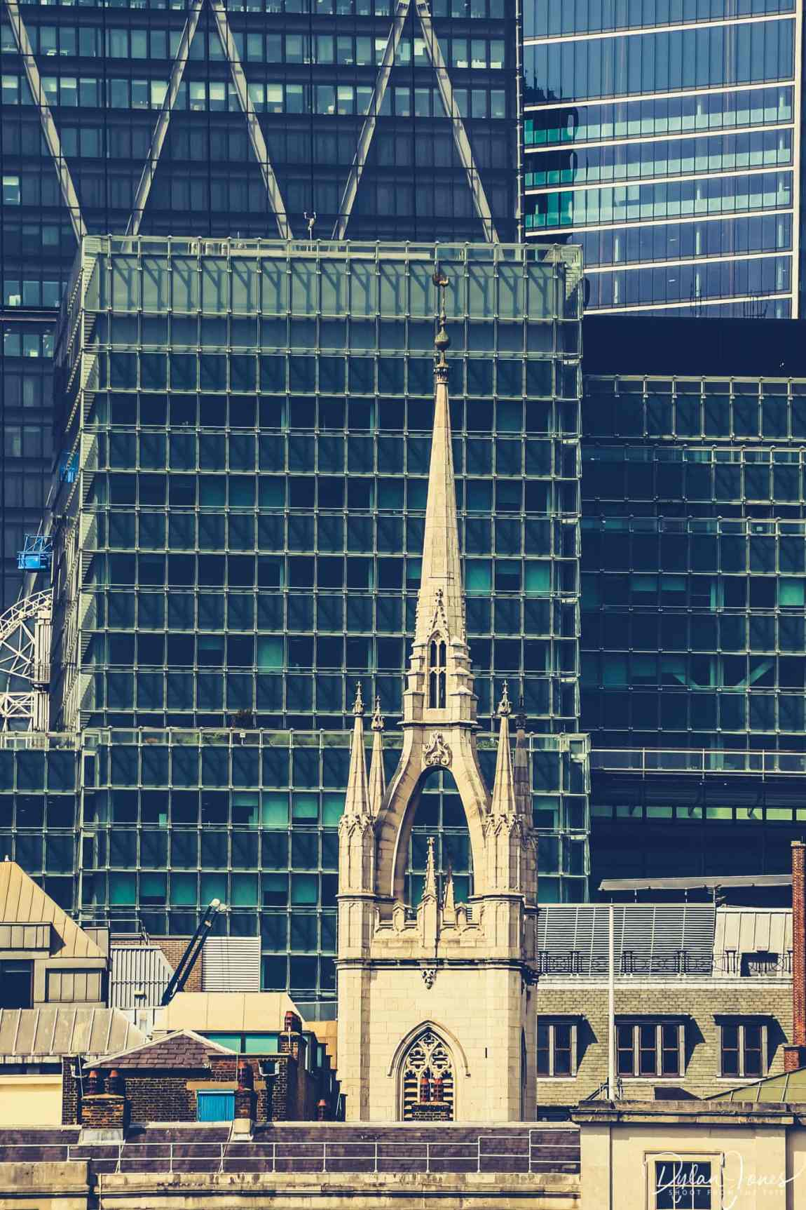 Old meets new in the City of London