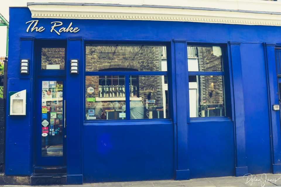 The Rake - a speciality beer bar at Borough Market