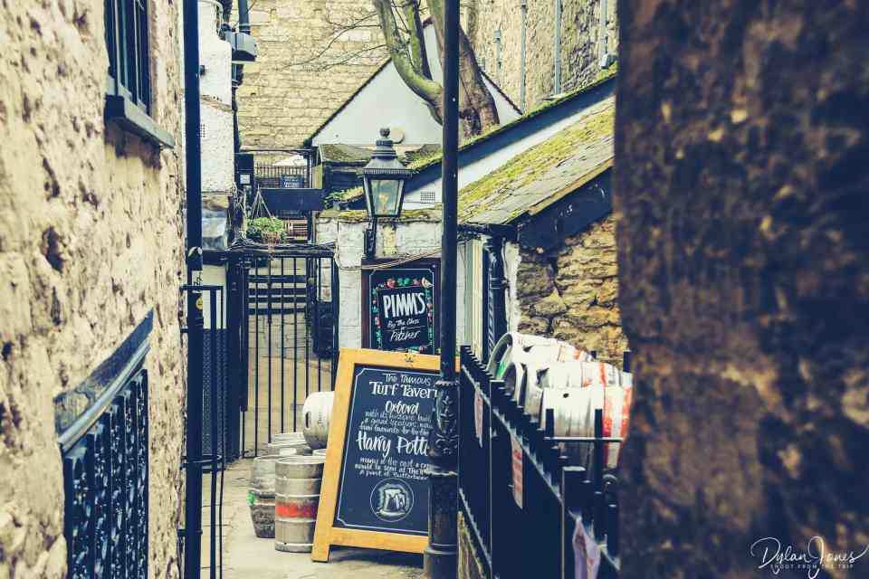 Turf Tavern - a regular stopping point during a weekend in Oxford