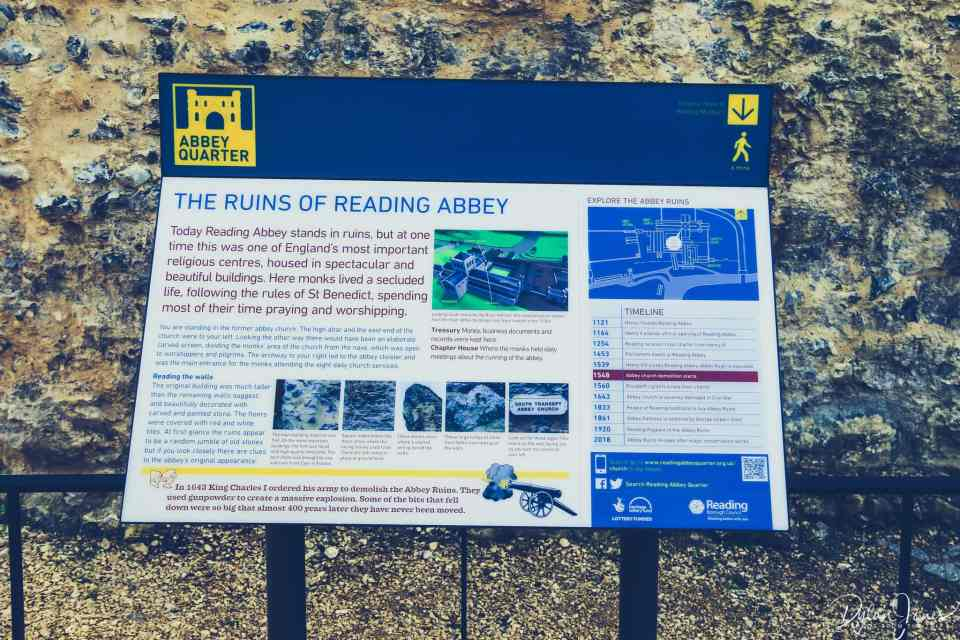 Reading Abbey Ruins - Things to do in Reading