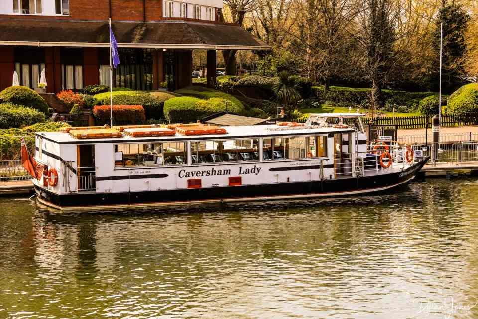 The Caversham Lady, Thamescruise vessel