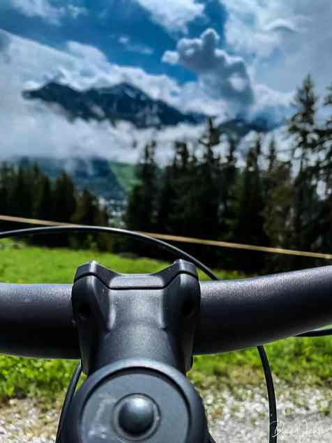 E-Biking in the mountains
