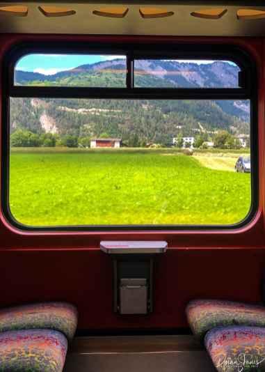 Views from the St. Bernard Express