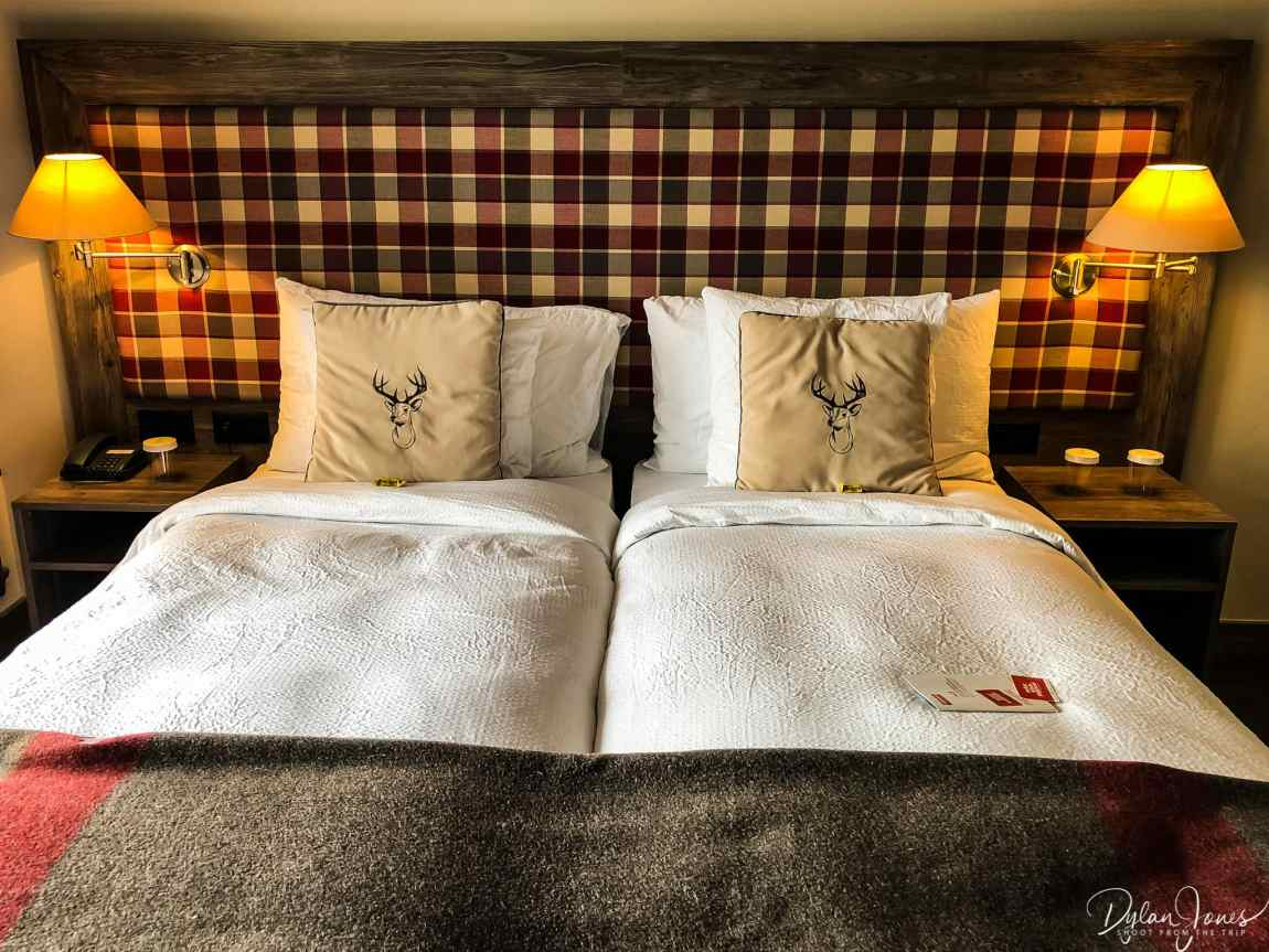The comfortable and cosy rooms at Hotel Bristol Verbier