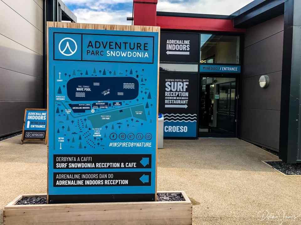 Adventure Parc Snowdonia Map
