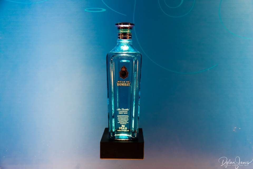 Star of Bombay bottle display