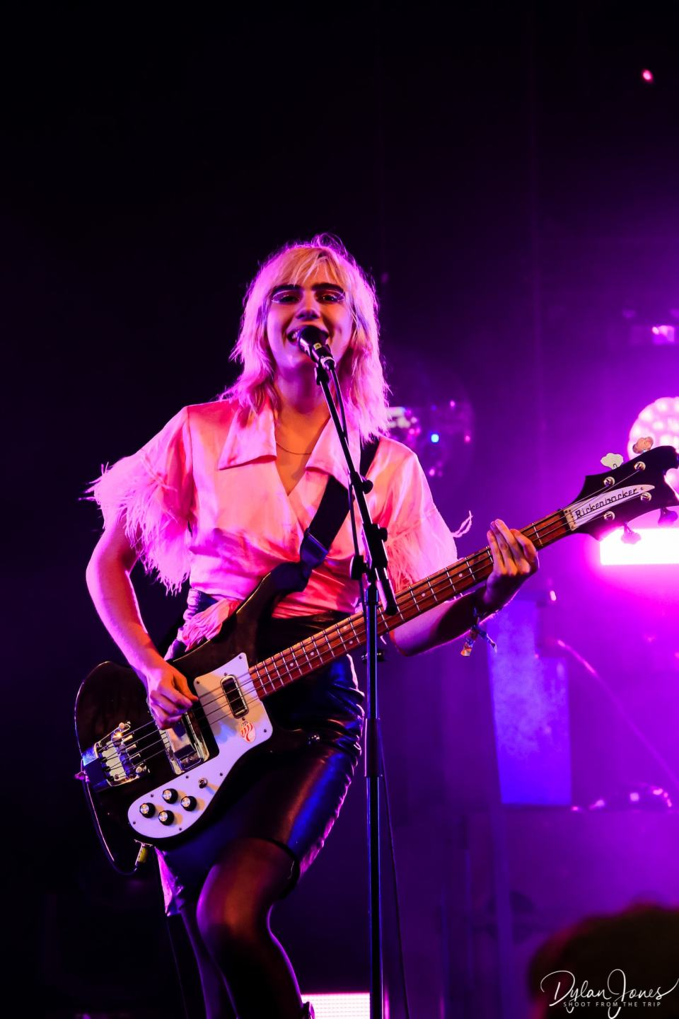 Sunflower Bean playing the Main Stage at Deer Shed Festival 10