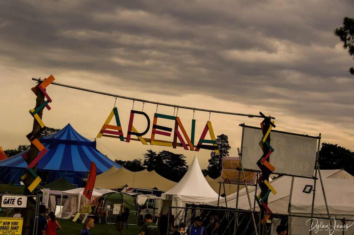 Main Arena entrance at Deer Shed Festival