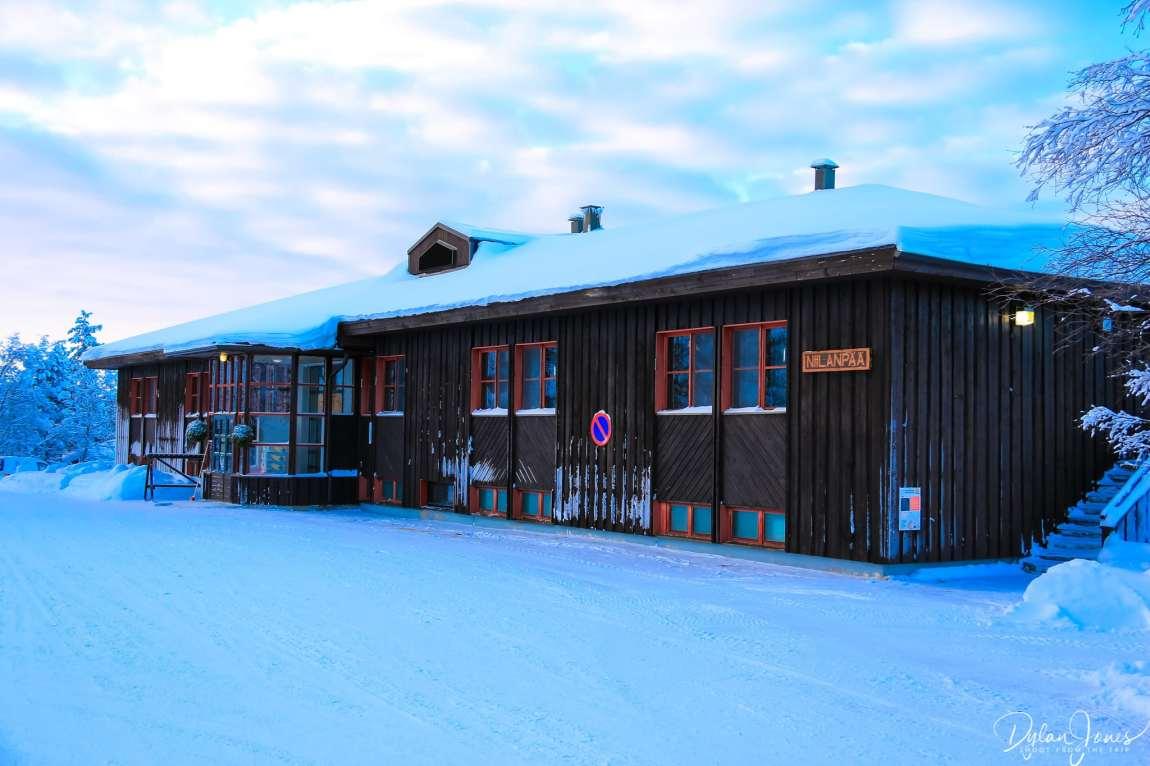 Hotel Niilanpää exterior shot
