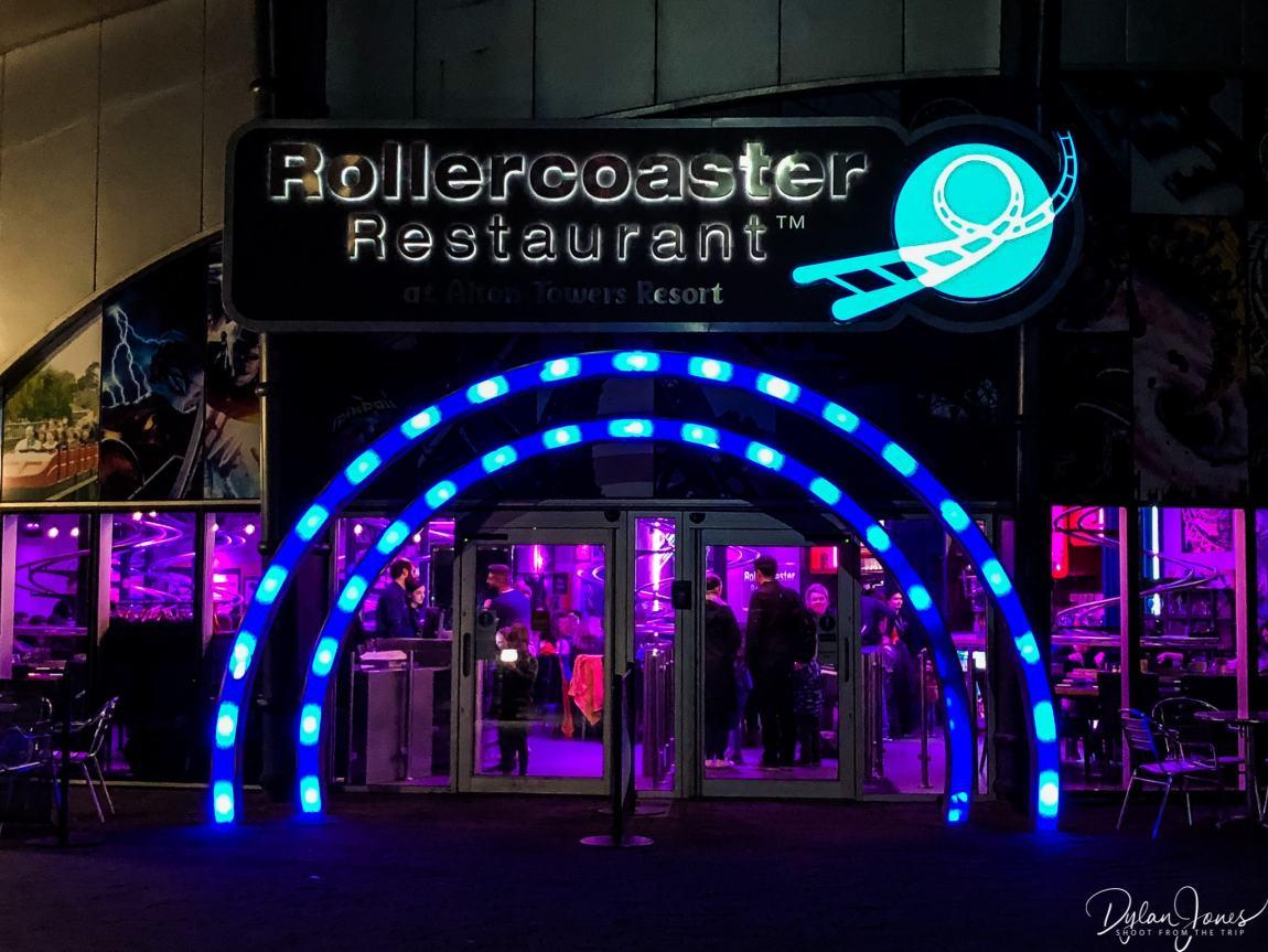 Rollercoaster Restaurant entrance