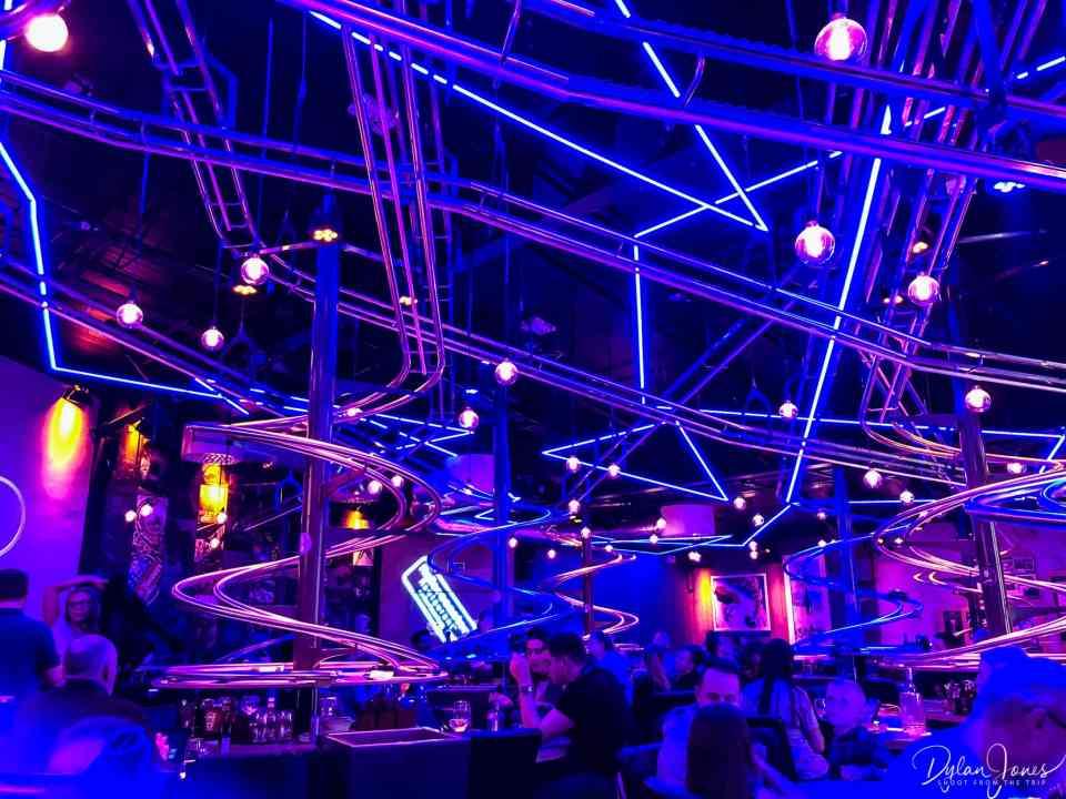 Rollercoaster Restaurant interior shot