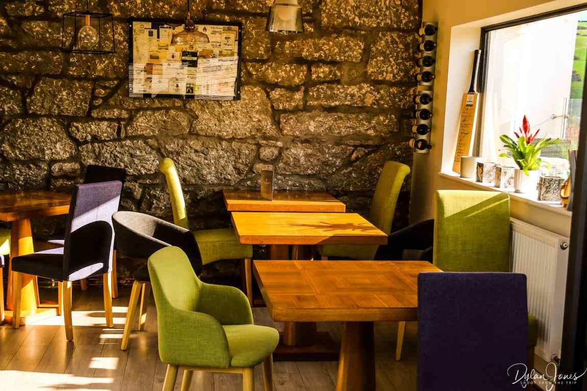 Tasting room at Gwinllan Conwy
