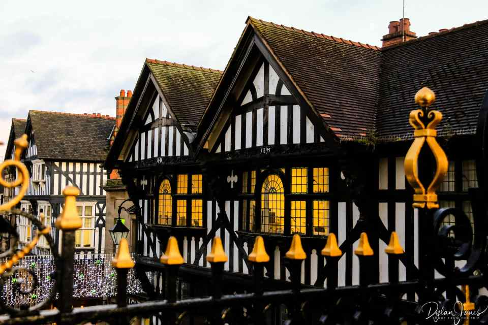 Timber Framed Chester buildings