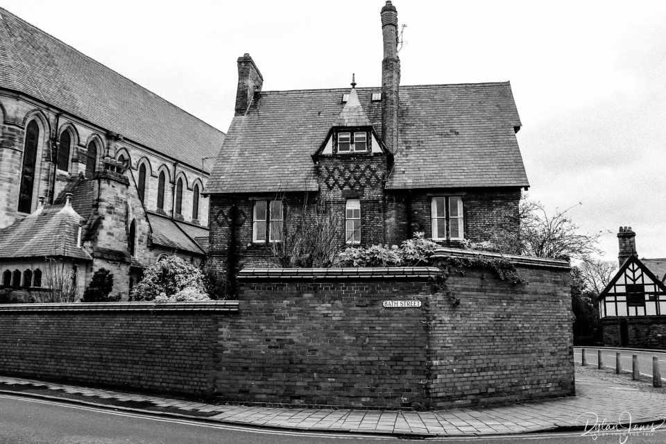 A gorgeous house on Bath Street, Chester