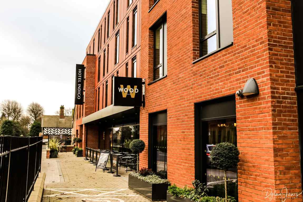 Exterior shot of Hotel Indigo Chester during a Chester sightseeing trip