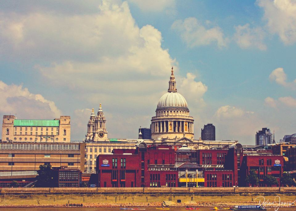 St. Paul's Cathedral, an iconic London landmark