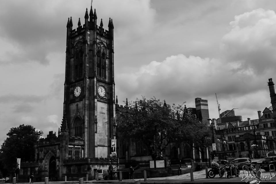 Visiting Manchester Cathedral during 48 hours in Manchester