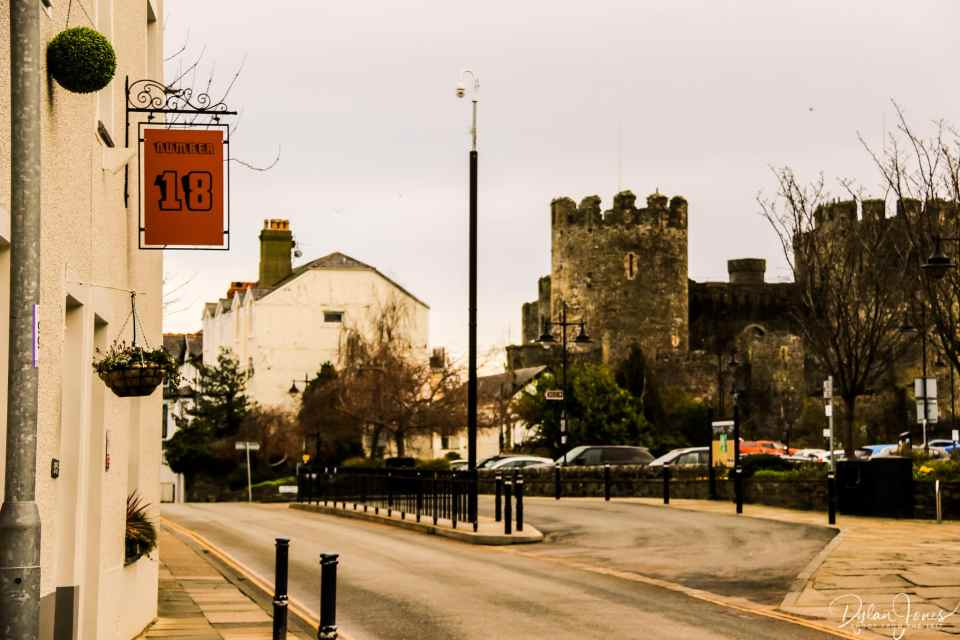 Number 18, located opposite Conwy Castle