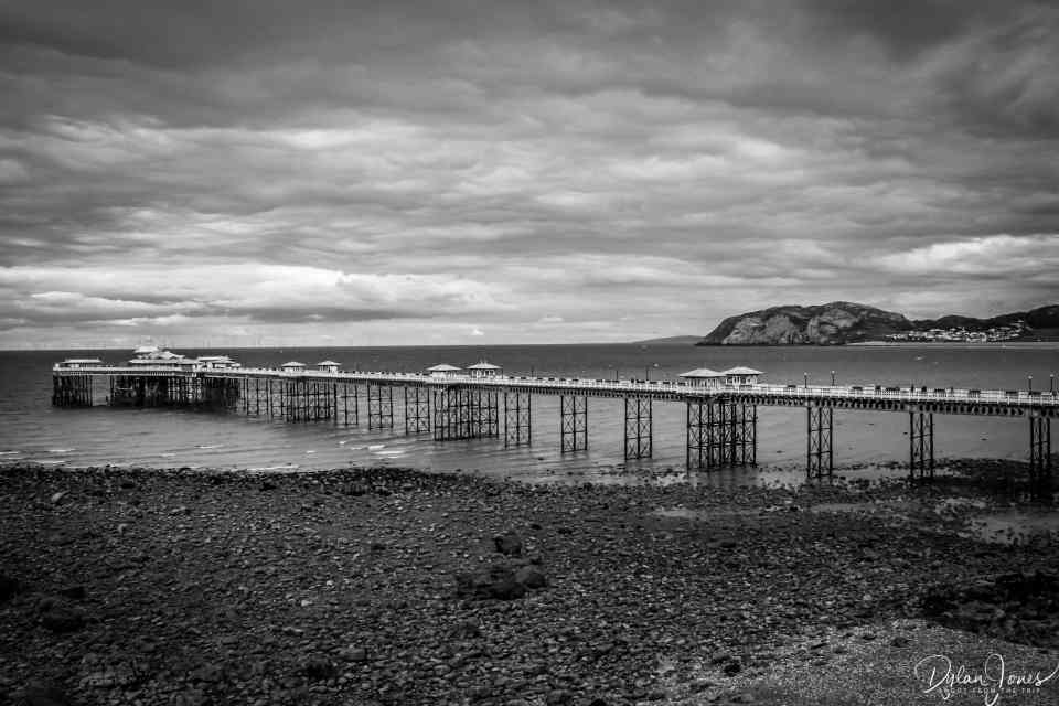 Victorian Pier, one of the oldest attractions in Llandudno