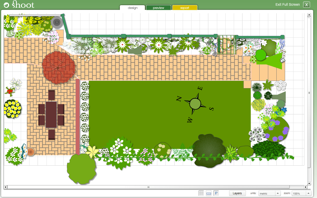 My Garden Planner & Garden Design Software Online - Shoot on Backyard Layout Planner id=17601
