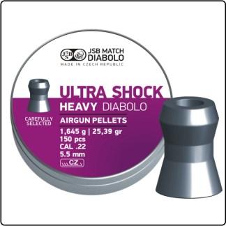 JSB Ultra Shock Heavy Diabolo 5.5mm 25.39gr