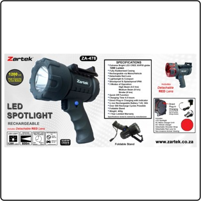 Zartek ZA-478 LED Spotlight