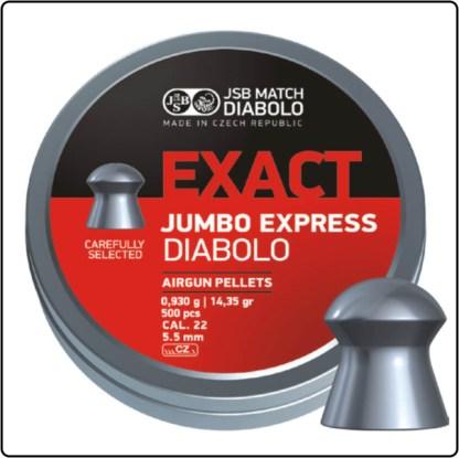 JSB Jumbo Express 5.5mm 14.35gr