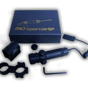 PAO TOPAZ Airgunner's Green Laser Sight Set