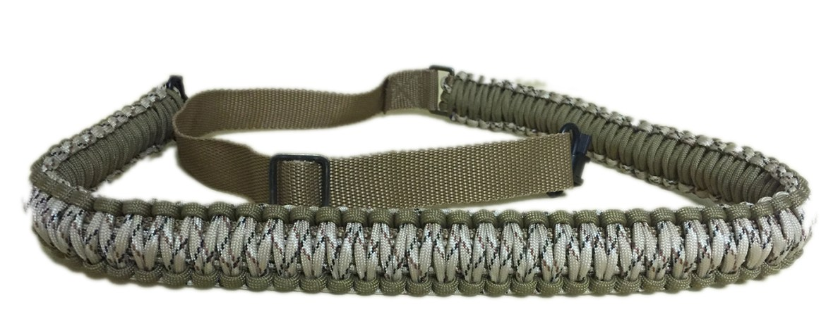 THE SHOOTING PARTY'S RIFLE SLING IS 'Ready for Anything*'