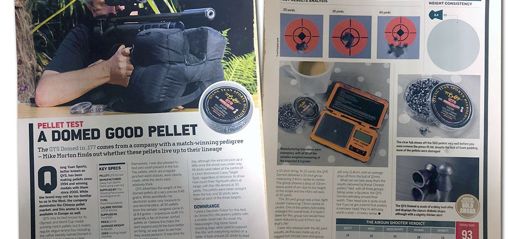 Review: Pellet Test – A Domed good pellet