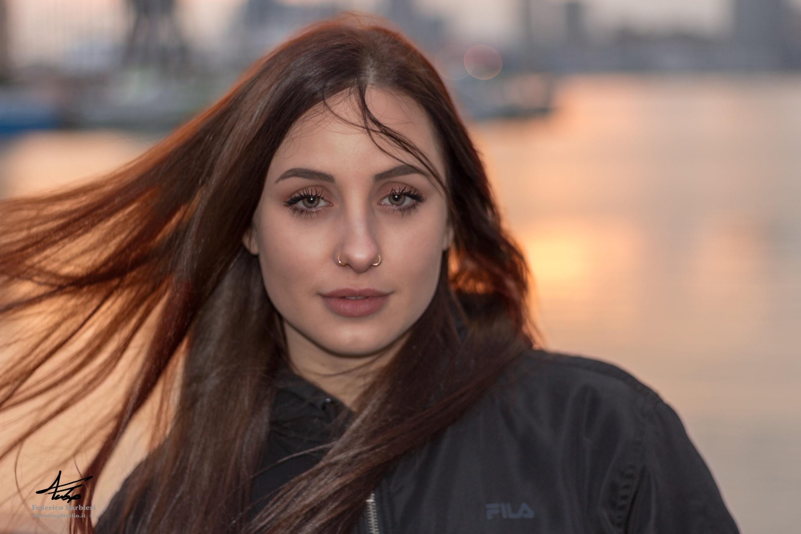servizio fotografico modelli a Genova outdoor