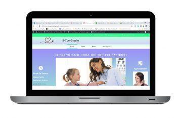 grafico web designer - sito internet per professionisti
