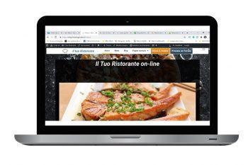 grafico web designer - sito internet per ristoranti e pizzerie