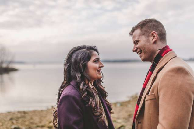 Relaxed rutland engagement shoot