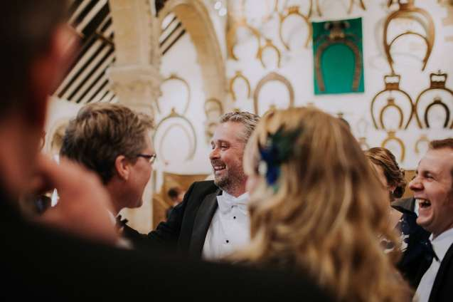 Laughs at Oakham Castle Wedding
