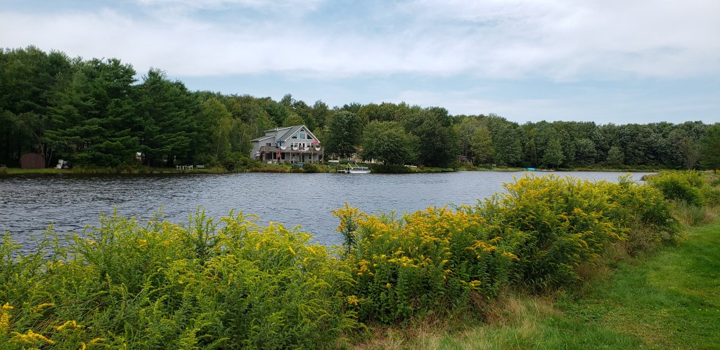 Arrowhead Lake, Pocono Mountains, Pennsylvania.